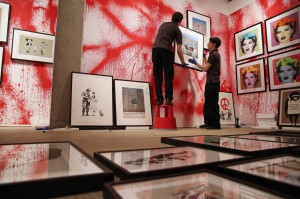 Banksy, Unauthorized Retrospective, Street Art, London, Sotheby's S|2 Space, Miami Art Scene, Art News, Art Info