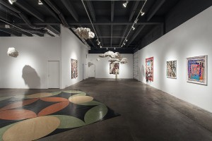 Sanford Biggers Exhibition, David Castillo Gallery in Miami, Artists in Miami, NYC, Miami Art Scene