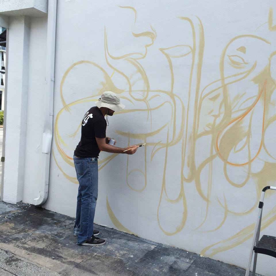 downtown hollywood kraves art miami based artist daniel fila a k a krave joins the award winning downtown hollywood mural project downtown hollywood is home to 11 soon to be 12