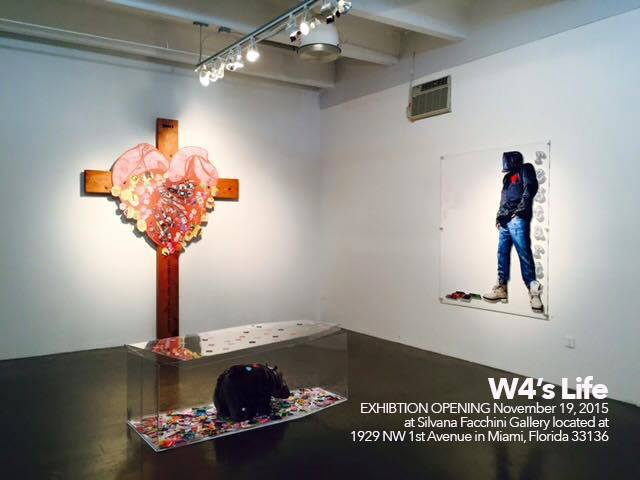 Global Artist W4 Makes Art With Concert Tickets