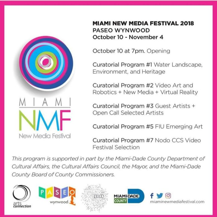 Miami New Media Festival: Opening Night at Paseo Wynwood