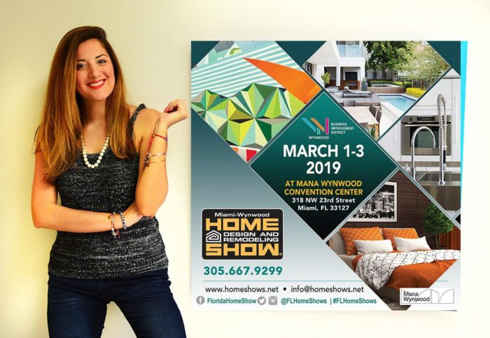 Laelanie Larach At The Home Design Remodeling Show