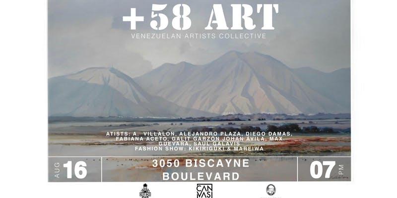 Canvas Miami Gallery: +58 ART