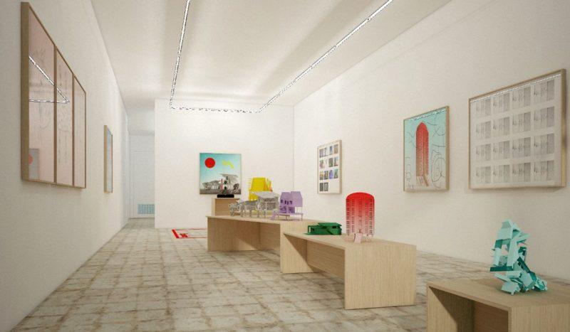 de la Cruz Collection: Art + Tech Student Exhibition at Tile